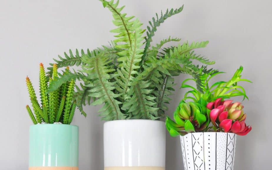 Mudcloth-Inspired DIY Ceramic Planter + FREE Printable Wall Art