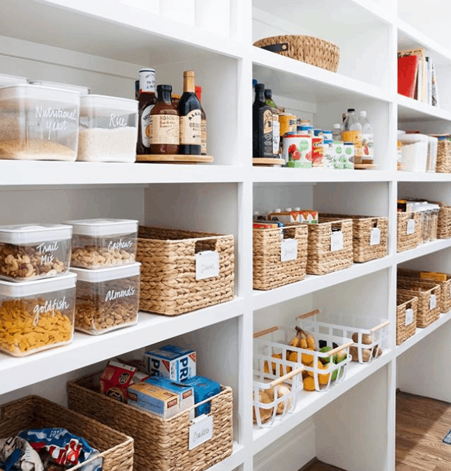 Inexpensive Kitchen Storage Ideas: Pantry Organization Ideas: The Only 6 (Cheap!) Items You