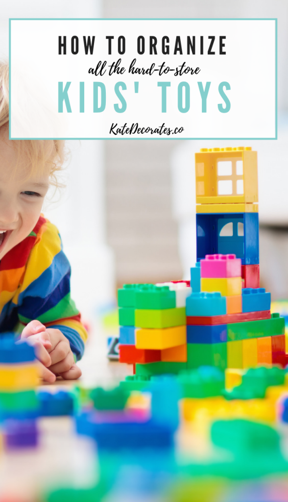 how to store and organize kids toys