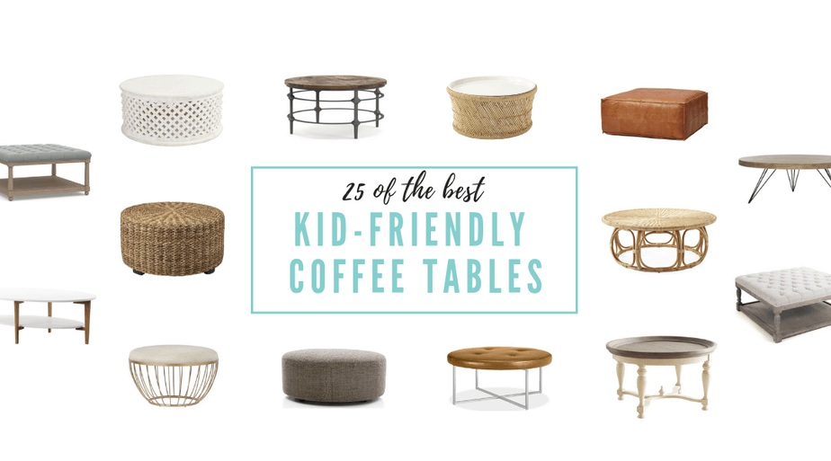 25 Kid-Friendly Coffee Tables